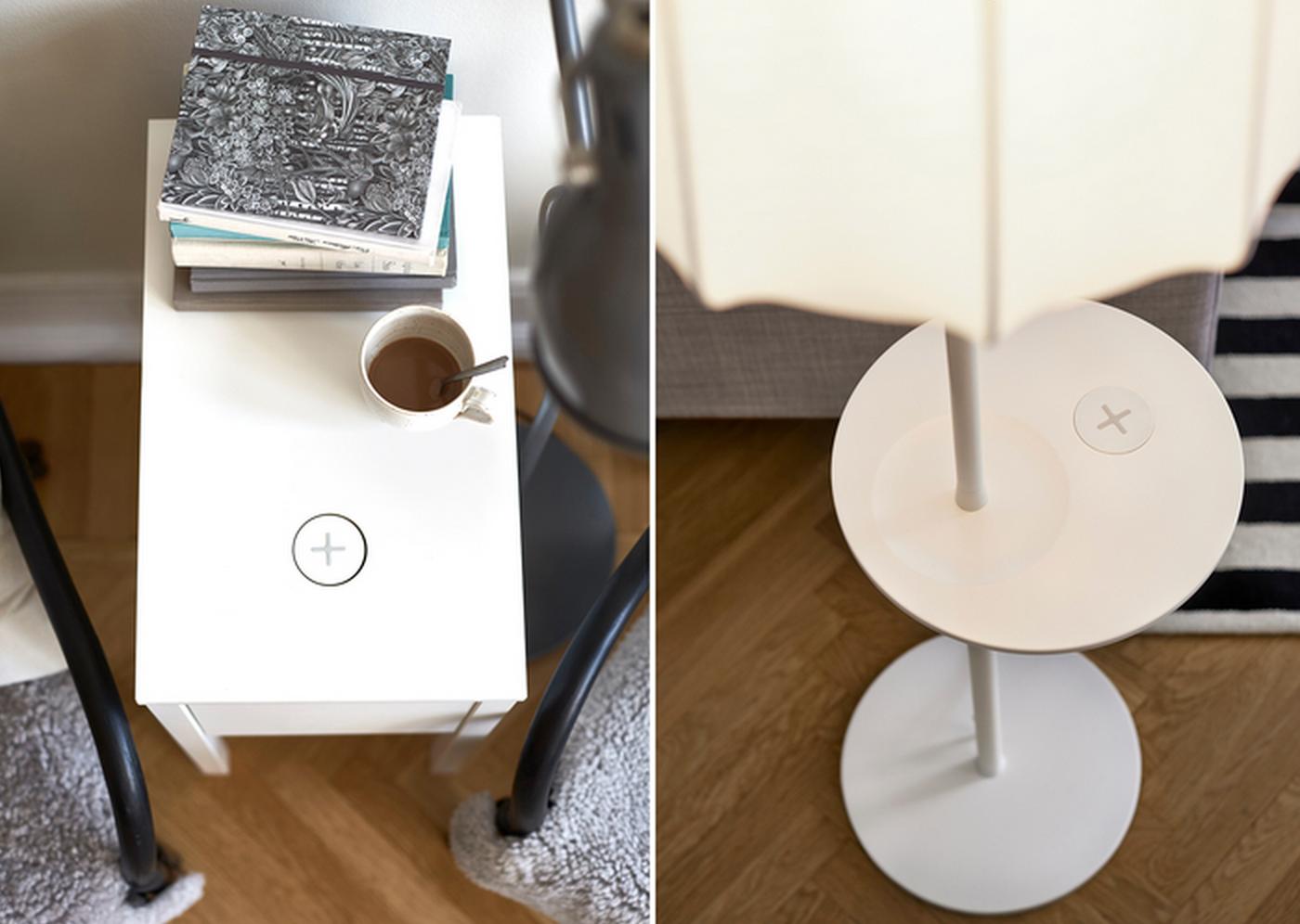 ikea se lance dans le rechargement sans fil fresh stuff. Black Bedroom Furniture Sets. Home Design Ideas